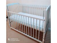 Excellent Baby cot and mattress