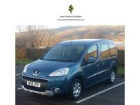 2012 PEUGEOT PARTNER HORIZON 1.6 HDi WHEELCHAIR ACCESSIBLE DISABLED VEHICLE