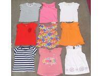 Bundle of Girls Age 3-4 Tops & Leggings - 18 items