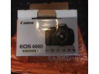 Canon 600D - 55mm - original box - perfect all rounder!