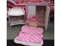 Baby Annabelle Items (plus unbranded car seat and potty)
