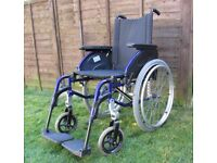 INVACARE Action 3 Self Propelled Foldable Wheelchair good condition FREE DELIVERY IN MY RANGE LE3