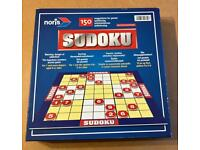 Sudoku Board Game. 150 Tasks & Solutions. From Noris Games. Complete And VGC.