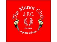 Female Football Players Wanted - Manor Ladies Need You - Age 16 plus.