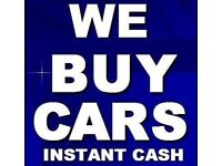 WANTED Any Cars or Vans, Any Condition