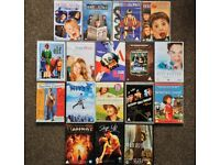 17 x DVDs: Mix of Family Movies (U and PG rated)