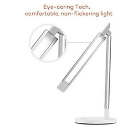LED Desk Lamp with USB Charging Port - STILL IN BOX