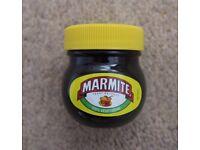 New Sealed Marmite Mini Jar Collectible Yeast Extract Love It Hate It Vegetarian Vegemite Toast