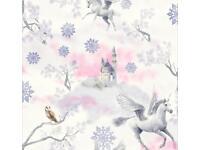 Glittery wallpaper