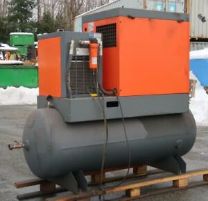 DV SYSTEMS 15 Hp Rotary Screw Air Compressor