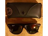 Original Ray Ban Wayfarers black with black tint