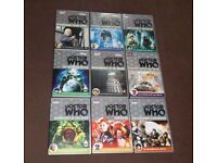 DOCTOR WHO - 9 classic series DVD's (William Hartnell, Sylvester McCoy, Tom Baker, Jon Pertwee).