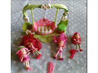 Strawberry Shortcake doll swing seat.