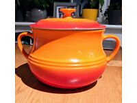 Le Creuset Casserole Bakeware Dish | Great Condition | Orange/Red