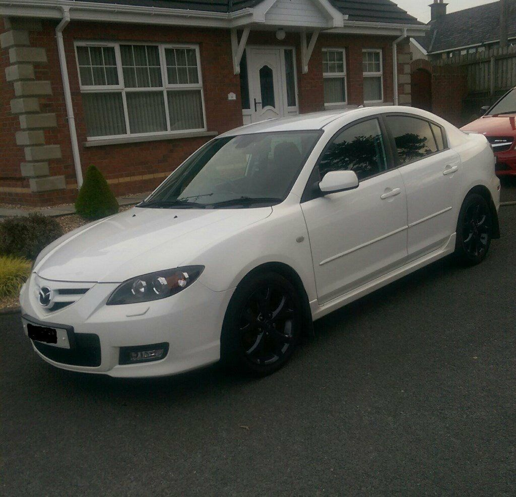 late 2008 mazda 3 saloon sport price drop in portadown. Black Bedroom Furniture Sets. Home Design Ideas