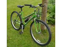 "Falcon Supernova lady's bike, 17"" medium frame, 15 gears, 26"" wheels, good condition"