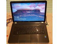 """17"""" HP Laptop: Intel i5 x4, 8GB Ram, 1 Terabit Hard Drive, Win 10, 64 bit"""