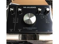 M-audio M-track 2x2m Audio Interface *Brand New*