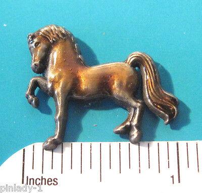 PRANCING   HORSE -   hat pin , lapel pin , tie tac , hatpin GIFT BOXED
