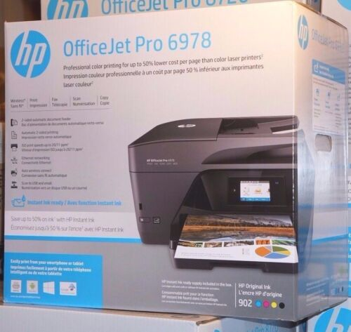 HP Officejet Pro 6978 Wireless All-In-One Instant Ink Ready Printer T0F29A#B1H