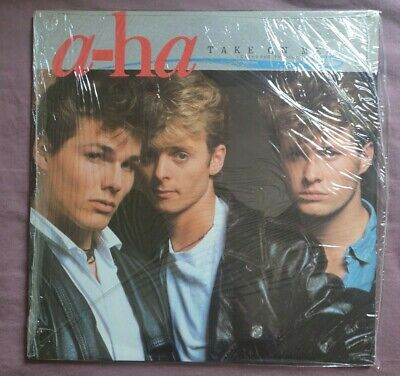 """A-HA 'TAKE ON ME (EXTENDED VERSION)' 1985 12"""" (open shrink wrap) like new"""