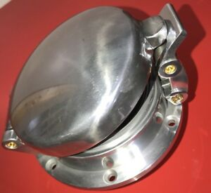 Rat Rod Flip Up Gas Fuel Cap Shelby Cobra Leman Porsche Polished Aluminum