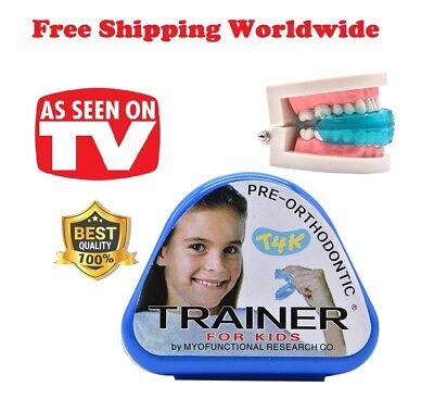 1pc T4k Kid Alignment Braces Children Dental Tooth Orthodontic Appliance Trainer