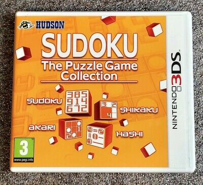 Sudoku the puzzle game collection / Nintendo 3DS 2DS NEW3DS NEW2DS