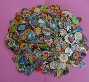 Pogs Milkcaps * 1000 Miscellaneous Variety w/10 slammers and two 6