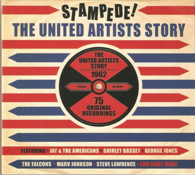 STAMPEDE! THE UNITED ARTISTS STORY - 3 CD BOX SET