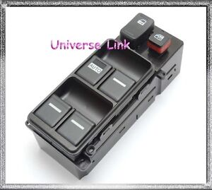 Electric Master Power Window Switch For Honda Accord