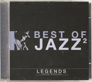 BEST OF JAZZ 2 LEGENDS CD ORIGINAL RECORDINGS - AIN'T MISBEHAVIN' & MORE