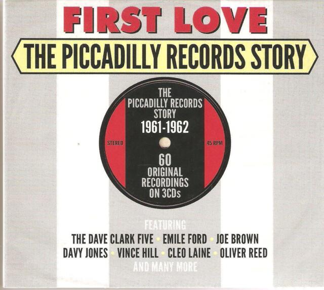FIRST LOVE THE PICCADILLY RECORDS STORY 1961 - 1962 - 3 CD BOX SET