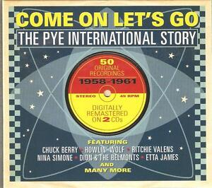 COME ON LET'S GO THE PYE INTERNATIONAL STORY 1958 - 1961 - 2 CD BOX SET