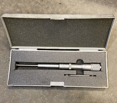 Mitutoyo 146-108 Groove Micrometer 2-3 Machinist Inspection Tool Maker Box Find
