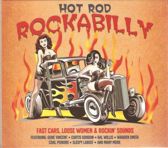 HOT ROD ROCKABILLY - 2 CD BOX SET - DRAGGIN' * BRAND NEW CADILLAC & MORE