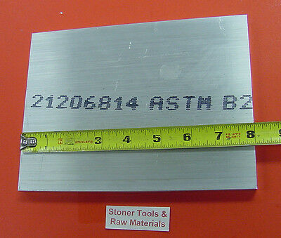 12 X 6 Aluminum 6061 Bar 8 Long Solid T6511 Extruded Mill Stock .50x 6