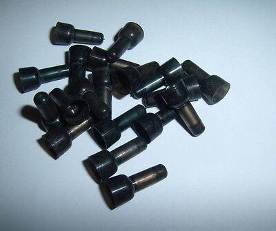 14 Gauge Black Caps (100 Closed End Car Radio Alarm Wire Crimp Caps Connector 16-14 AWG Gauge Black)