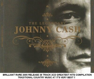 Johnny Cash - Best Greatest Hits Collection RARE 2005 Release Country Music 2CD