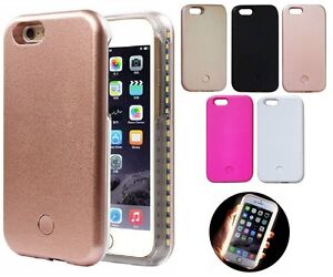 LED Light Up Latest Selfie Phone Case Cover For iPhone & Samsung