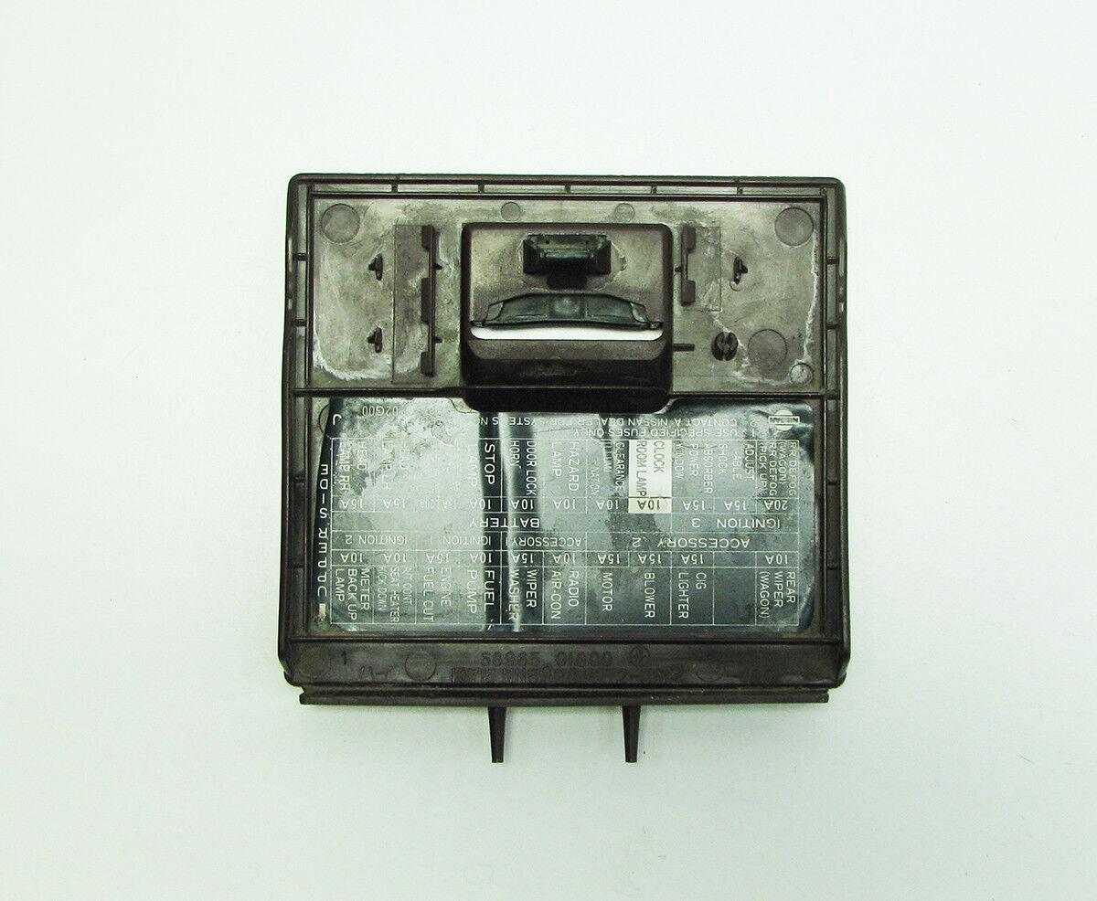 D21 Fuse Box Wiring Diagram