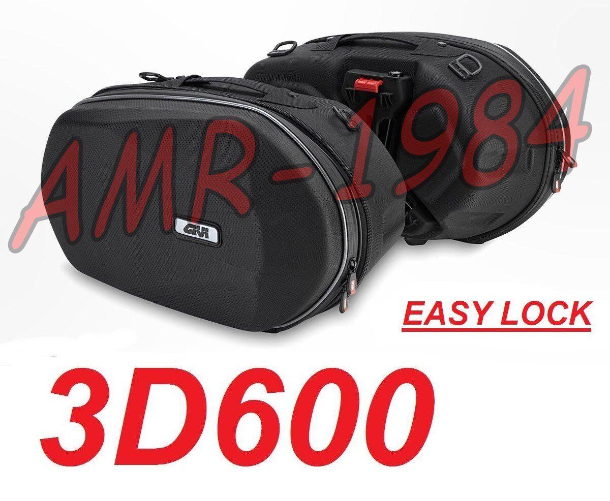 BORSE LATERALI SEMIRIGIDE 3D600 EASYLOCK 18-28 LITRI TERMOFORMATE 3D600 EX  TPH10 335887d1c9a