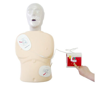 Automatic External Simulated First Aid Training In Hungarian New Aed Trainer