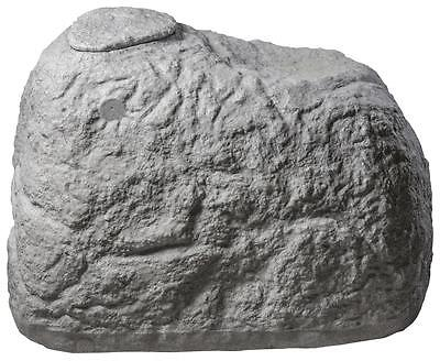 "Greenlife Dekorregenspeicher Regentonne ""Findling"" 500 L granitgrau 120x80x85 cm"