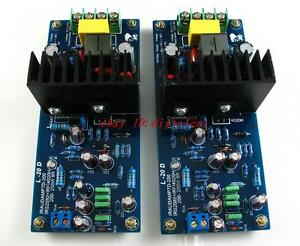 【DIY KIT】LJM L20D IRS2092 Top Class D amplifier Kit 200-250W *2 8ohm
