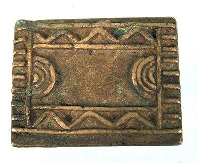 Art African - Weight Antique in Weigh Powder L'or - Bronze - Goldweight 4,8 CMS