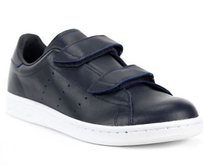 Adidas Originals X Hyke Mens Womens Fast Navy Leather Trainers Sizes UK 7-11.5