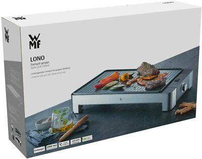 WMF LONO Grill sobremesa 2000W Placas Antiadherente y Desmontables Acero Inoxid