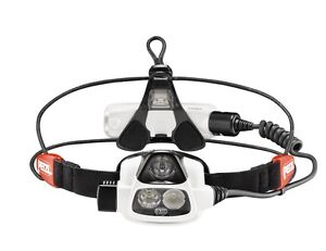 PETZL Nao E36A Self-Adjusting Reactive Lighting Headlamp 355 Lumens