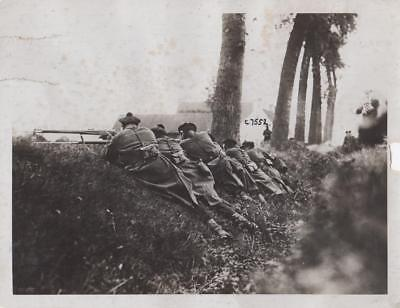 French Marines Fighting Near Antwerp AP Wire - military still